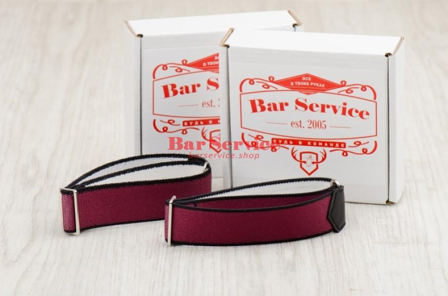 Армбенды, цвет бордо. Bar Service в Пскове